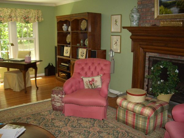 Barbara Sternau Interior Design Redecorating A Sleepy Hollow Living Room